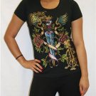 CHRISTIAN AUDIGIER EXQUISITE WOMEN'S T-SHIRT