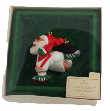 Jogging Santa 1982 QX4576 Hallmark Keepsake