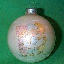 Betsey Clark third in the series 1975 hallmark ornament Caroling Trio