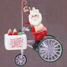 Kringle's Kool Treats Here Comes Santa 8th in Series 1986 Hallmark Ornament QX4043