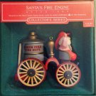 Santas Fire Engine 1985 Here Comes Santa #7 Hallmark Keepsake Ornament