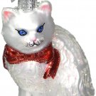 Old World Christmas Princess Kitty Glass Blown Ornament