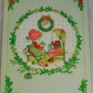 "POSTCARD 1985 ""God Jul Gott Nytt Ar"" Greeting Card"