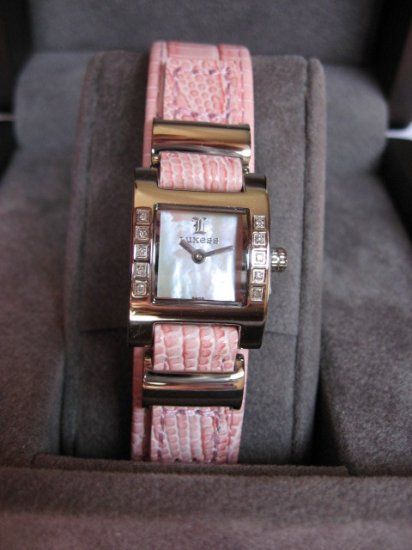 Luxess Ladies Swiss watch with genuine clean diamonds