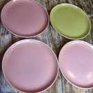 "4 Russel Wright American Modern Bread Plates 8"" 2colors"