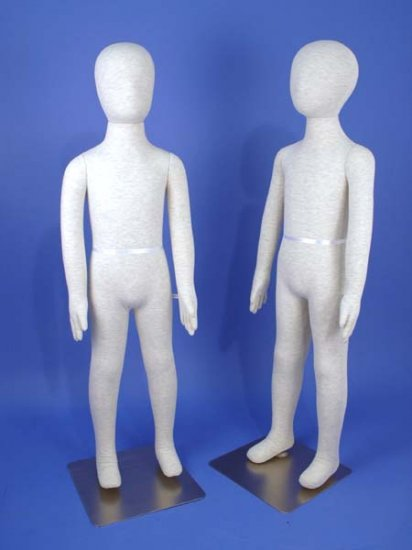 Two Totally Flexible & Bendable Kid Mannequin K6-S,K7-S