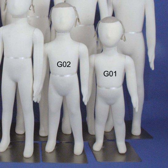 Two Totally Flexible & Bendable Girl Mannequin G01-G02