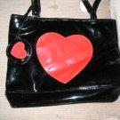 FREE SHIPPING NEW WOMAN GIRLS  HANDBAGS BAGS PURSES BAG BALCK & RED