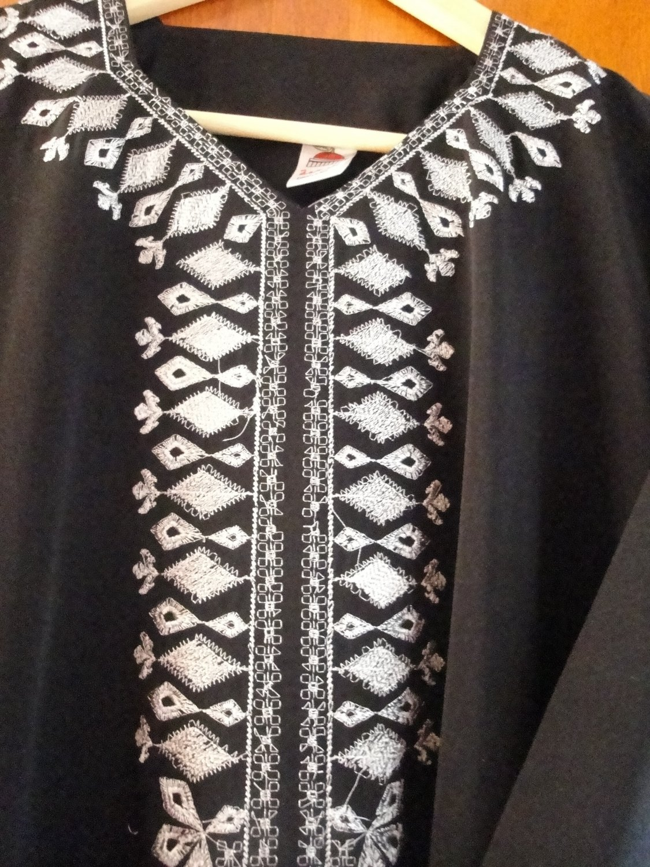 ABAYA Islamic SILVER embroidered Jilbab Dress HIJAB #457