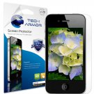 Tech Armor iPhone 4/4S Screen Protectors w/ Lifetime Warranty, 3 PACK Retail Pkg