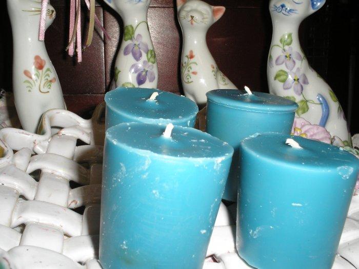 BLUEBERRY CHEESECAKE Soy Votives ( Vanilla Cheesecake and  Blueberries) Homemade Soy Votives