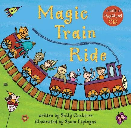 Magic Train Ride (Paperback with Music CD)