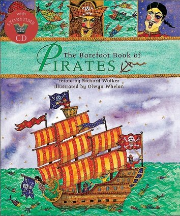 The Barefoot Book of Pirates (Paperback with Story CD)