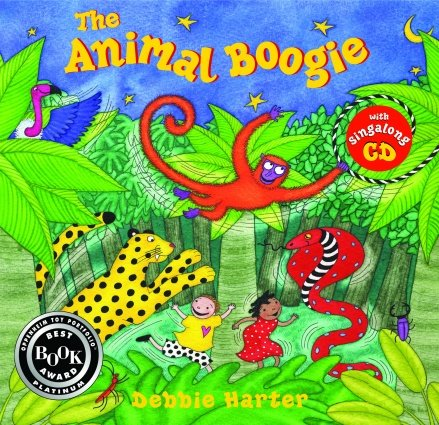 The Animal Boogie (Hardcover with Music CD)