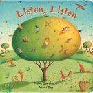 Listen, Listen (Large Formt Board Book)