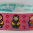 Kawaii Deco Tape - Russian Doll - Matryoshka - Pink
