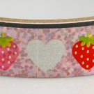 Kawaii Deco Tape - Strawberry and Hearts - Glittery & Shiny