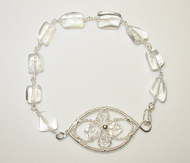 Winter Crystal Bracelet