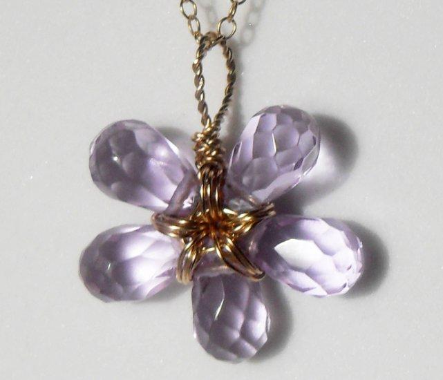 Pale Lavender Flower
