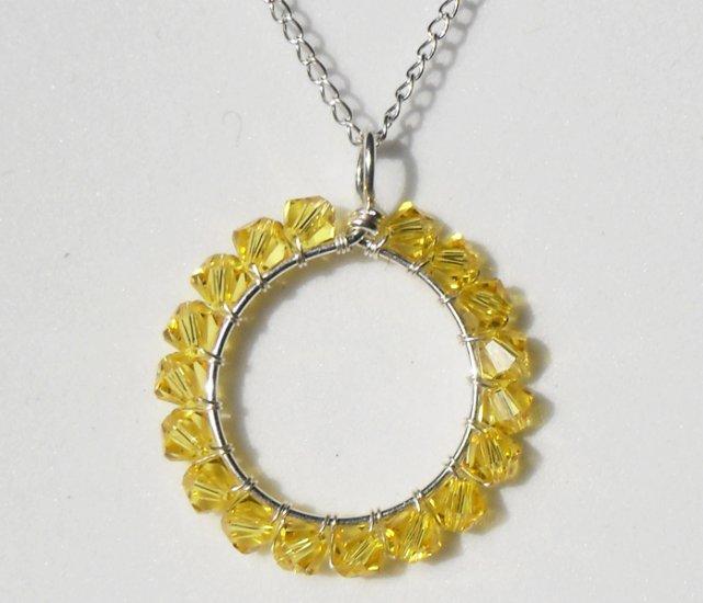Sparkle On! Light Topaz Necklace