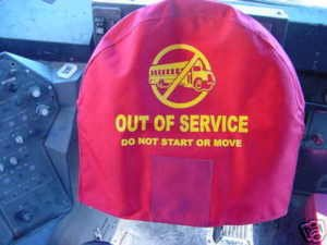 SAFETY STEERING WHEEL COVER FOR BUSES
