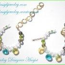 2 Glass Bead Bracelets