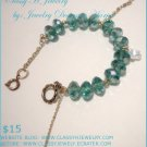''FLUFFY FLUFF'' Swarovski Bracelet