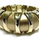 Gold tone Cuff Stretch Bracelet