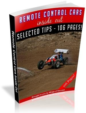 Remote Control Cars Inside And Out E-Book
