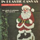 Ho Ho Santa in Plastic Canvas Vintage Craft Book 1991