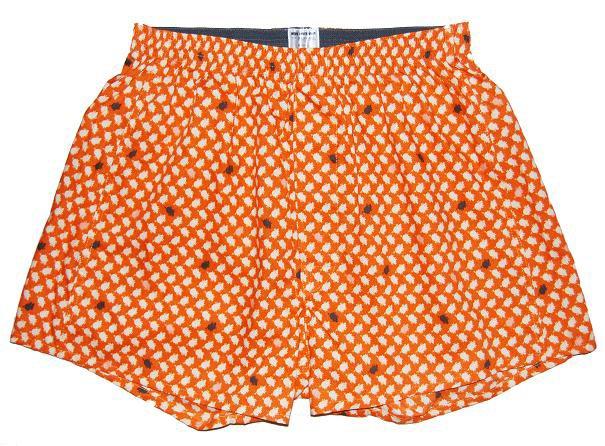 Orange Pattern Boxer