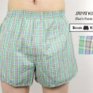 Green Checked Boxer