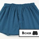 Navy Patterned Men Boxer