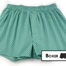 Light blue Men Boxer with pattern
