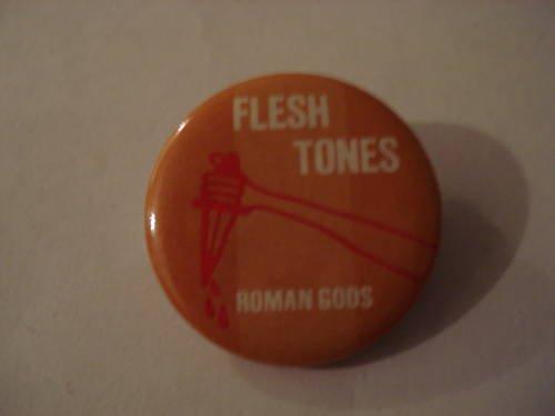 Fleshtones Roman Gods Collectors Button 1982