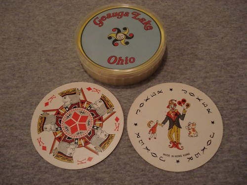 Geauga Lake Amusement Park Collectible Playing Cards