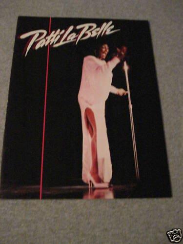 Patti LaBelle In Concert Tour Program 1987