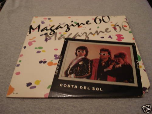 "Magazine 60 ""Costa Del Sol"" Mega Rare Vinyl LP"