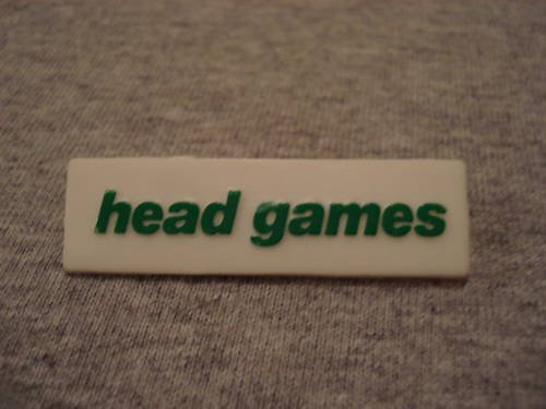 Foreigner Head Games Collectors Button/Pin 1979