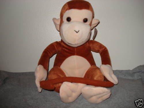 "11"" Stuffed Monkey from GOFFA International"
