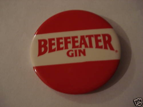 Beefeater Gin Original Collectors Button