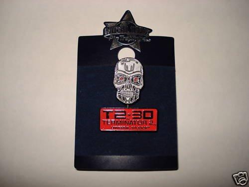 T2-3D Terminator 2 Universal Studios Pin
