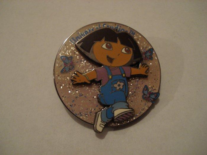 Dora  The Explorer Sparkles & Butterflies Pin