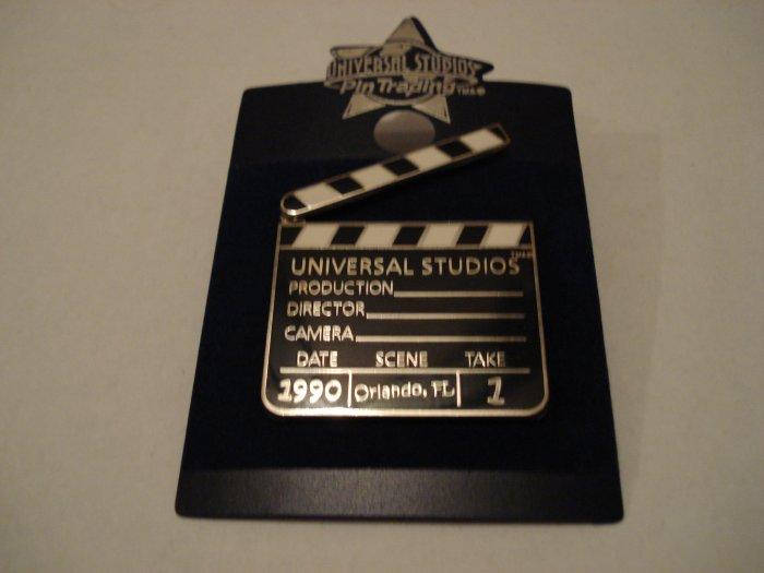 Universal Studios Movie Clapboard Pin