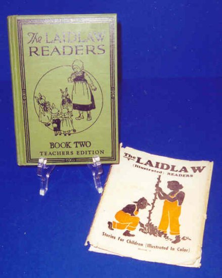 1928...THE LAIDLAW READERS HB Book with Dust Jacket