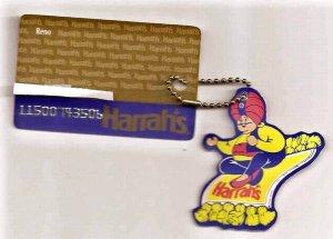 Vintage...HARRAH'S CASINO HOTEL Privilege Gaming Card