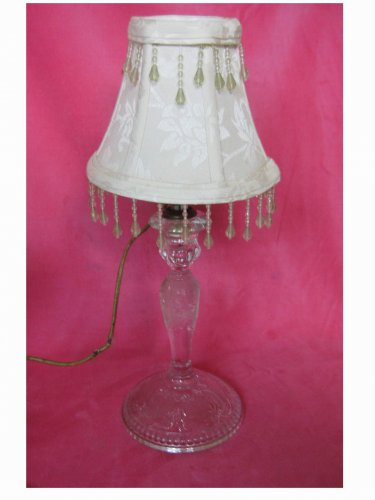 Vintage (1938) - Boudoir Glass Table Lamp