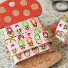1.6cm x 5 Yards - kawaii Cotton Woven Jacquard Trim Ribbon - Russian Doll Matryoshka