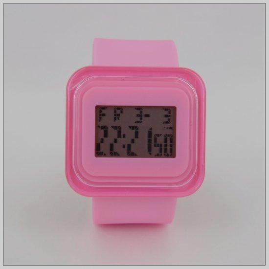 Pink Fashion Digital Watch