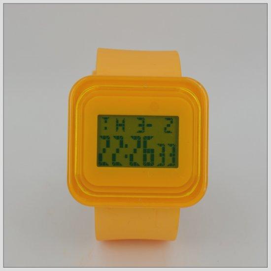 Yellow Fashion Digital Watch